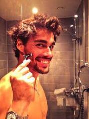 fabio shaving
