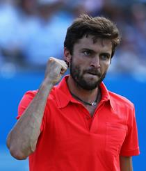 during day five of the Aegon Championships at Queen's Club on June 19, 2015 in London, England.